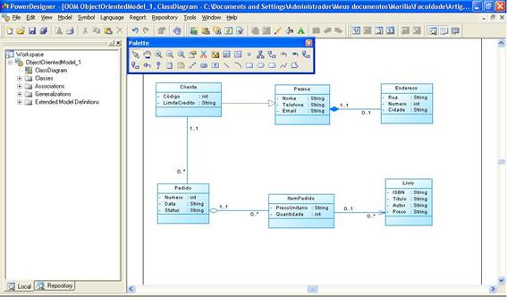 Utilizando a ferramenta powerdesigner na modelagem de aplicaes figura 2 janela inicial ccuart Image collections