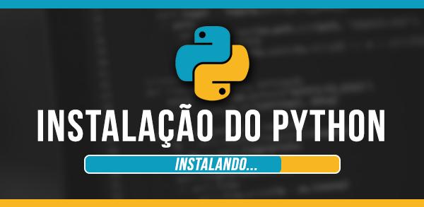 Instalação do Python