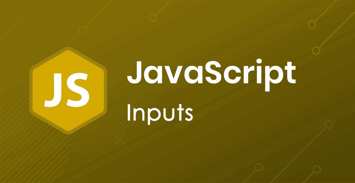 JavaScript: Input