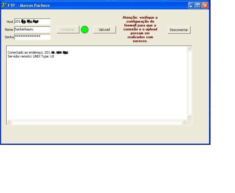 Envio de arquivos usando IDFTP com indy 10