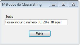 Exemplo com String.Format