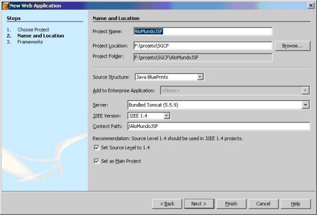 Desenvolvendo aplicações WEB com JavaServer Faces e a IDE