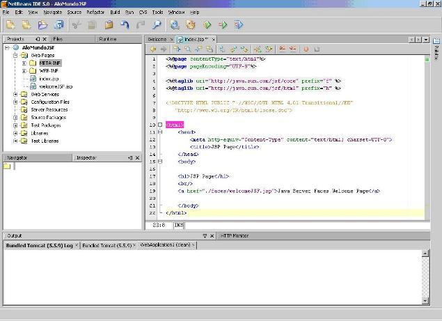 Desenvolvendo aplicações WEB com JavaServer Faces e a IDE NetBeans