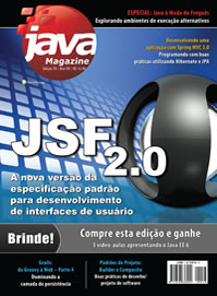 Revista Java Magazine 78: JSF 2.0