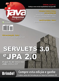Revista Java Magazine 81: Servlets 3.0 e JPA 2.0