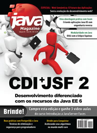 Revista Java Magazine 85: CDI + JSF 2