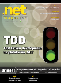 Revista .net Magazine 86: TDD - Test Driven Development na plataforma .NET